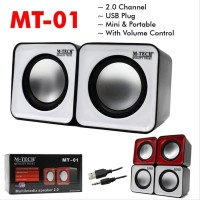 Speaker Pc M-Tech Mt-01 Usb 2.0