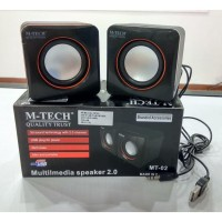 Speaker Pc M-Tech Mt-02 Usb 2.0