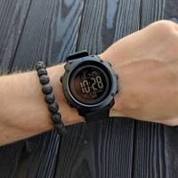 Jam Tangan Pria Digital SKMEI 1426 BLACK/BLACK Water resistant 50m