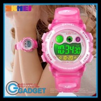 Jam Tangan Anak Digital SKMEI 1451 PINK Water resistant 30m