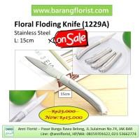 Folding Knife (1229A), Pisau lipat, pisau bunga, aksesoris toko bunga