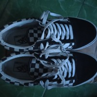 Vans oldskool checkerboard japan market