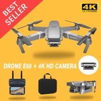 Drone E68 Mini RC 4K HD Camera WIFI FPV APP Controle Quadcopter Selfie
