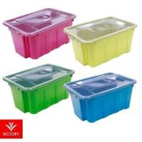 Box Penyimpanan Plastik Victory Hamper Box