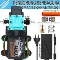 Pompa HIU DRAT Paket Lengkap Pendorong Otomatis - SLIPLOCK DRAT LUAR
