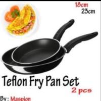 teflon maspion fry pan set