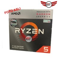 AMD Ryzen 5 3400G Radeon RX Vega 11 Graphics 4Core 3.7Ghz Up To 4.2Ghz