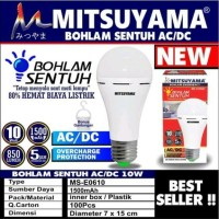 Bohlam lampu emergency jenius LED 10W Mitsuyama