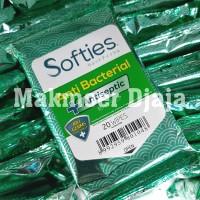 Softies Wet Wipes 20 lembar Original Tissue Tisu Basah