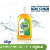 Dettol Antiseptic 95ml Antiseptik