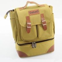 GABAG COOLER DIAPER BACKPACK BAG - LEMON - TAS ASI