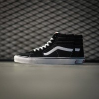 Vans Sk8 Hi Classic Black White Global