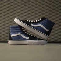 Vans Sk8 Hi Classic Navy White Global