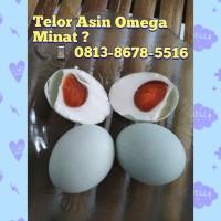 telur asin omega / telor asin omega matang brebes