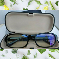 kacamata Baca Plus Auto Focus Unisex Black with box