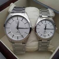 Jam Tangan Alexander Christie Couple AC8579 (Cowo 4cm & Cew 3.2cm)