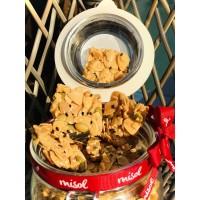 Crispy Mixed Nuts Kue Kering Premium MISOL kemasan Jar Kecil