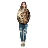 6 Sizes Men Women Animal 3D Graphic Print Sweatshirt Hoodie Long