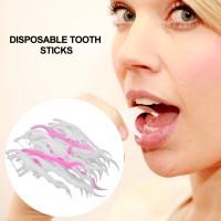 Sekali Pakai 2 in 1 Tusuk Gigi Dental Floss