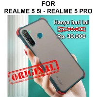 Shield case Realme 5 5i - 5 Pro casing hp cover fuze mika matte tpu