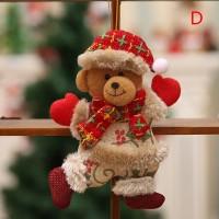 Faid Ornamen Boneka Santa Claus / Snowman / Rusa untuk Dekorasi