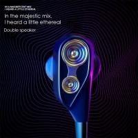 qkz 4D Bass Double subwoofer headset Stereo Earphone In-Ear HiFi