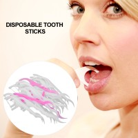 Floss Sekali Pakai 2 in 1 Tusuk Gigi Dental
