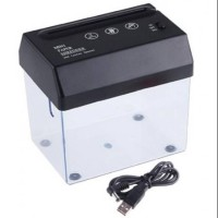 HS Mesin Penghancur Kertas Electrict Mini Black