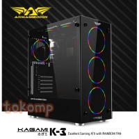 Casing PC Rakitan Gaming Armaggeddon KAGAMI K-3