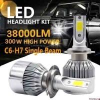 Seri C6 Mobil LED Lampu H1 H3 H4 H7 9005 9006 36 W 3800lm Cahaya