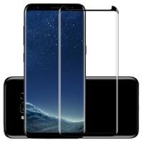 S8 3D Tempered Glass Film Pelindung Layar untuk Samsung Galaxy