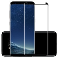 3D Tempered Glass Film Pelindung Layar untuk Samsung Galaxy S8