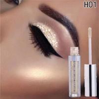 12colors Eyeshadow Liquid Waterproof Glitter Eyeliner Shimmer Makeup