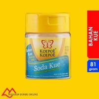 Soda Kue - Pengembang Natrium Bikarbonat - Cap Koepoe Koepoe