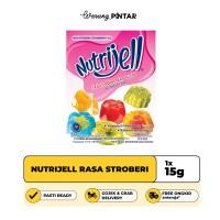 Nutrijell Rasa Stroberi/ Strawberry Sachet 15gr