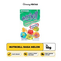 Nutrijell Rasa Melon Sachet 10gr