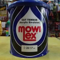 MOWILEX EMULSION GALON GALON 2.5L HITAM E-200 / CAT TEMBOK INTERIOR