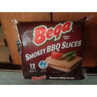 Keju Slice BEGA 200 Gr 12 Slices Cheddar Smokey BBQ Import AUSTRALIA
