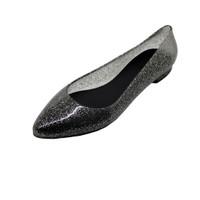 Sepatu Flat Wanita Flatshoes Glitter BTC-B