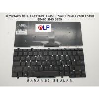 Keyboard Dell Latitude E7450 E7470 E7490 E7480 E5450 E5470 - Black