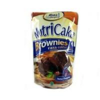 NUTRICAKE NUTRI CAKE BROWNIES TANPA MIXER RASA COKLAT KEJU