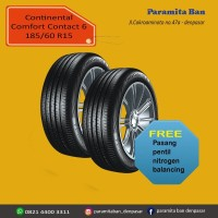 Ban Mobil Continental CC6 185/60 R15 for Yaris,Splash,Swift (DOT 2017)
