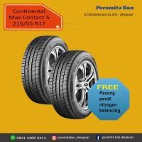 Ban Mobil Continental MC5 215/55 R17 (DOT 2014)