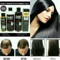 Paket BMKS 4 in 1 : Shampoo + Conditioner + HairTonic + Minyak Kemiri