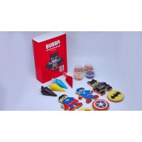 Super Hero Bubba Dreamy Cookies - Kue Hias Kreatifitas Edukasi Anak