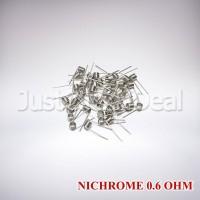 BEST SELLER KAWAT VAPE COIL MASTER NICHROME NI80 0.6 OHM PREBUILT