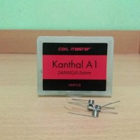 BEST SELLER AUTHETIC PREBUILT COIL MASTER KANTHAL A1 - 26 AWG | 24 AWG