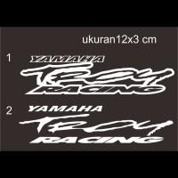 Cutting Sticker motor Yamaha Troy Racing