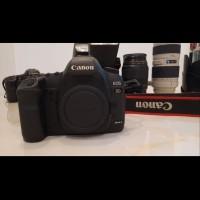 Kamera DSLR Canon 5D Mk ii Bekas Seperti Baru