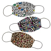 Masker kain filter non medis lucu anak dan dewasa- Abstrak 11